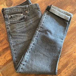 Classic Levi's 501 C High Waisted Jean 32 Blk NEW